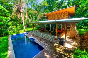 Four Bedroom Modern-Tropical Home Located Near Bodhi Tree, Walking Distance to Guiones Beach and Shops-SOLD