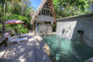 Balinese Style Beach Houses Steps to Playa Guiones Beach-SOLD