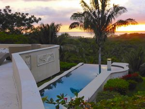 Hidden Balinese Estate in San Juanillo Gated Community with Ocean Views over Biological Reserve