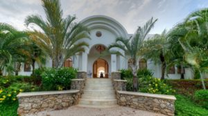 Casa Siete Leguas with Rare Valley and Ocean Views Situated High in the Dona Cielo Mountains