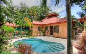 Casa Nirvana – Quaint Private Getaway with Pool, Gated Entrance, and Quality Building Just Minutes from the Beach