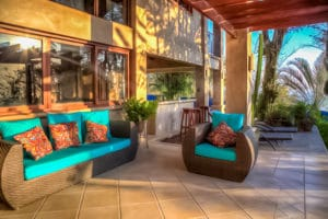 Pool Area Outdoor Bar