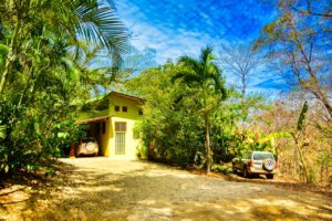 Creekside 2 Bed, 2 Bath Home with Ocean Views and Large Open Yards in San Juanillo