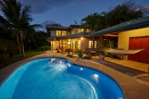 Beachfront Four Bedroom Home in Guiones Beach Club – Steps to Surf with Ocean Views and Privacy