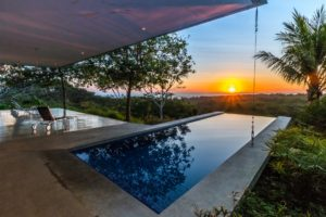 Off the Grid Modern Tech Home on Massive Ocean View Property in San Juanillo