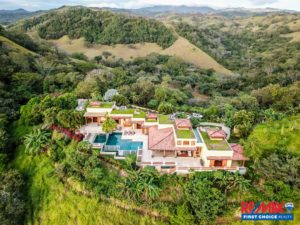 Hacienda La Trinidad – A Stunning Private Estate with Massive Ocean Views just Minutes From Nosara