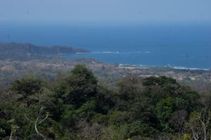 Ocean Views of Punta Guiones and North to Punta India