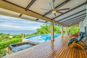 Stunning Lux Home – Expansive Ocean Views of Playa Guiones